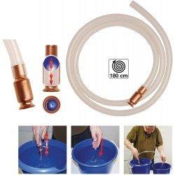 Bomba sifón para trasvase de líquidos 1.800 mm.