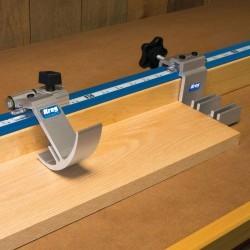 Regla con topes de precisión para máquinas de corte KMS8000