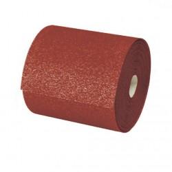Rollo 50 metros lija papel 115 mm. OXIDO ALUMINIO grano 180