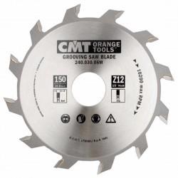 Sierra circular para ranurar 150 x 3 mm. espesor y 30 eje