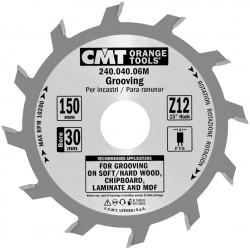 Sierra circular para ranurar 150 x 4 mm. espesor y 30 eje