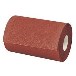Rollo de lija para madera en papel de 115 x 50.000 mm. grano 80