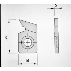 10 Sectores dentados 29 x 16 x 4 mm.