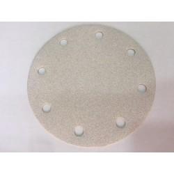 Disco de lija 150 y 8 agujeros grano 100