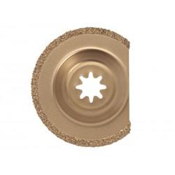 Hoja de sierra de segmentos postizos de metal duro