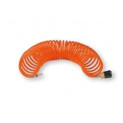 Manguera de 15 metros en espiral con conexiones