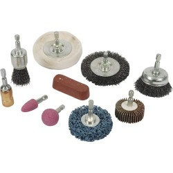Juego de accesorios de limpieza y pulido para taladro referencia 918557