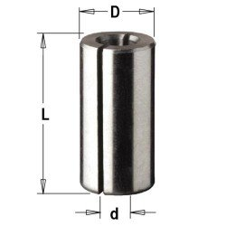 Casquillo reductor 12-8 mm. para fresadora portatil