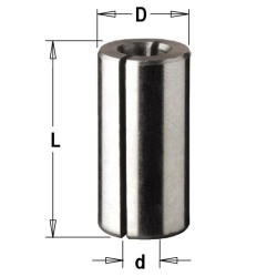 Casquillo reductor 8-6 mm. para fresadora portatil